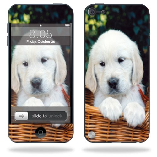 UPC 766897830266, Mightyskins Protective Skin Decal Cover for Apple iPod Touch 5G (5th generation) MP3 Player wrap sticker skins Puppy