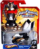 die cast zord - Hot Wheels Power Rangers Megaforce 1:50 Die Cast Car Robo Knight Lion Zord