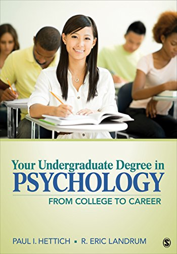 Download Your Undergraduate Degree in Psychology: From College to Career Pdf