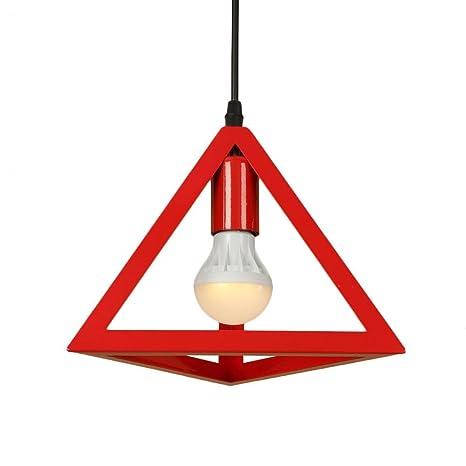 E27 luces colgantes geométricas de la vendimia industrial ...