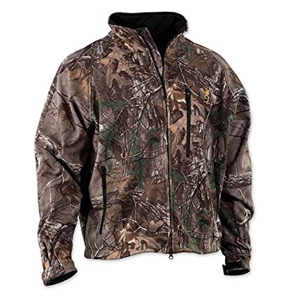 9f7190baada28 Browning Wasatch Soft Shell Jacket, Mossy Oak Break-Up Country, Large