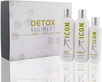ICON PACK DETOX (Shift 250ml +Energy 250ml +Post-Tonic 150ml): Amazon.es: Salud y cuidado personal