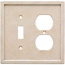 Franklin Brass W30355-346-C Tumbled Textured Tile Switch/Duplex Wall Plate