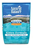 Natural Balance Kitten Formula Dry Cat Food, Original Ultra Whole Body Health Chicken, Duck Meal & Salmon Meal, 6-Pound