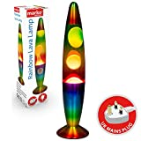 Marko Electrical Rainbow Lava Lamp Soothing Relaxing Motion Retro Lighting Wax Light Christmas