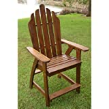 International Caravan Adirondack Bar Heigh Patio Chair Review