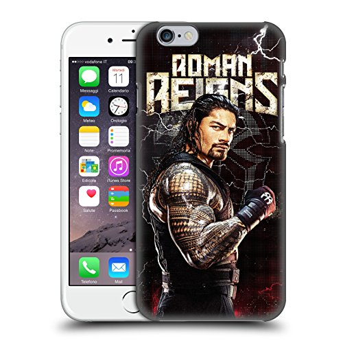 Officiel WWE Roman Reigns Superstars Étui Coque D'Arrière Rigide Pour Apple iPhone 6 / 6s