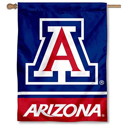 Arizona Wildcats Blue House Flag Banner