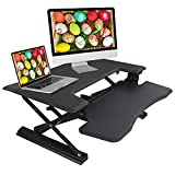 """TaoTronics Height Adjustable Standing Desk, 36"""" Stand Up Desk with 12 Height Levels"""