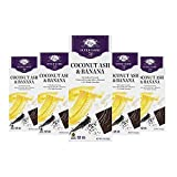 Vosges Haut-Chocolat Super Dark Coconut Ash and Banana, Pack of 12, 3 oz Bars