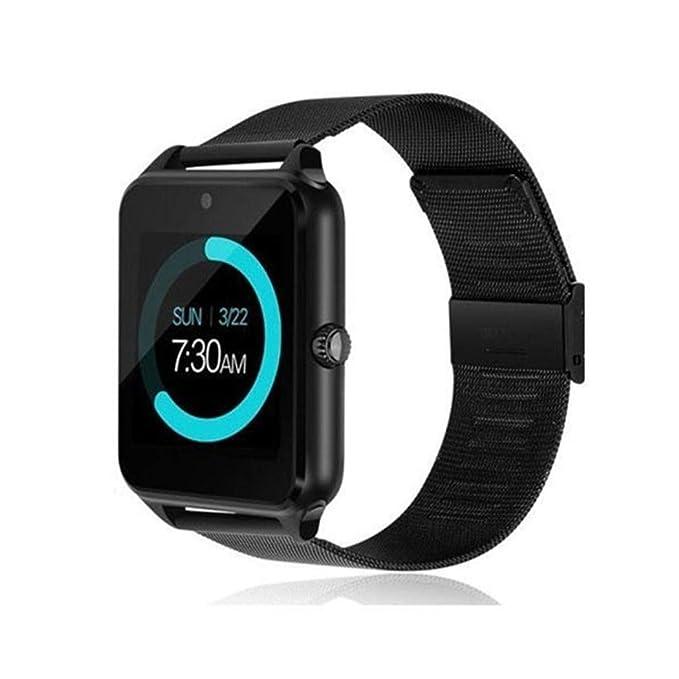 Bluetooth Smartwatch, Desbloqueado con cámara, podómetro El ...