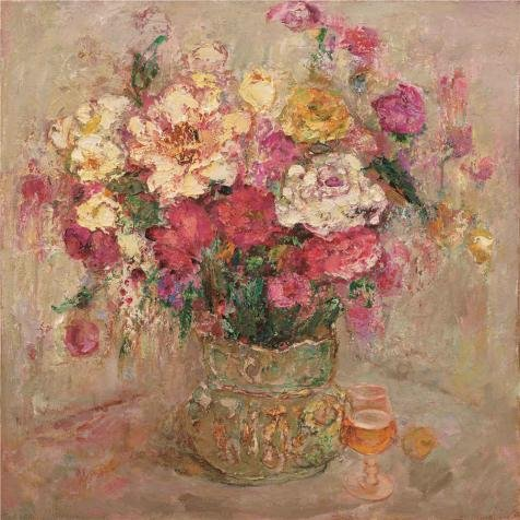 Perfect Effect Canvas ,the Replica Art DecorativeCanvas Prints Of Oil Painting 'Still Life With Flowers', 20x20 Inch / 51x51 Cm Is Best For Laundry Room Gallery Art And Home Decoration And (Super Deluxe Wonderland Queen Costume)