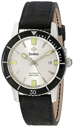 Zodiac-Mens-ZO9251-Heritage-Analog-DisplaySwiss-Automatic-Black-Watch