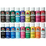 HOME  Amazon, модель Apple Barrel Acrylic Paint Set, 18 Piece (2-Ounce), PROMOABI Best Selling Colors I, артикул B00ATJSD8I