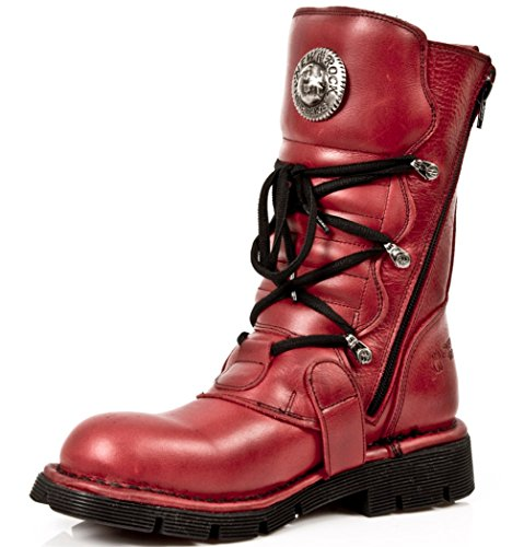 NEWROCK NR M.1473 S12 Red - New Rock Boots - Unisex: Amazon.co.uk: Shoes &  Bags
