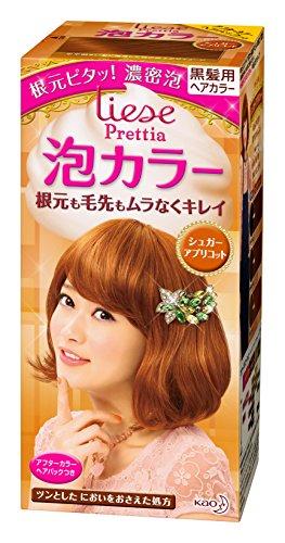 Kao PRETTIA Bubble Hair Color Sugar Apricot '11