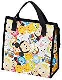 Japan Disney Official Tsum Tsum - Adorable Mickey Mouse All Star Ver. Eco-friendly Thermal Grocery Handbag with Cute Handle Insulated Lunch Bag Wonderful Gift SKATER