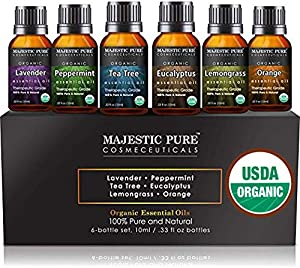 Win A Free MAJESTIC PURE Aromatherapy Essential Oils Set