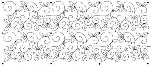 Hancy Creations 45002 Whimsical Garden Full Line Stencils