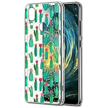 Eouine Funda Huawei P20 Lite, Cárcasa Silicona 3D Transparente con Dibujos Diseño Suave Gel TPU [Antigolpes] de Protector Bumper Case Cover Fundas ...