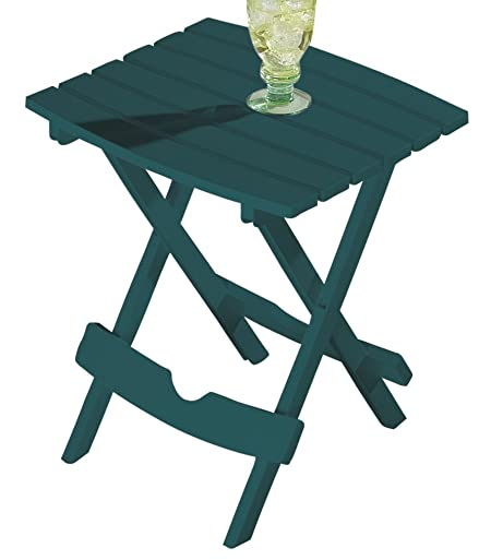 Miles Kimball Green Outdoor Folding Side Table