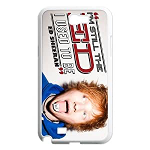 Custom Ed Sheeran Hard Back Cover Case for Samsung Galaxy Note 2 NT585 by mcsharks
