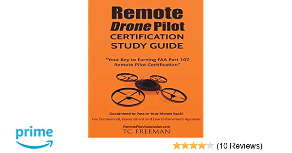 remote drone pilot certification study guide: your key to earning ...