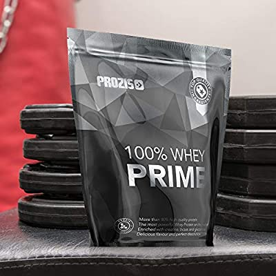 Prozis 100% Whey Prime 2.0 Suplemento Puro en Polvo, con un Perfil Completo de Aminoácidos y Rico en BCAA, Mousse de Chocolate - 1000 g