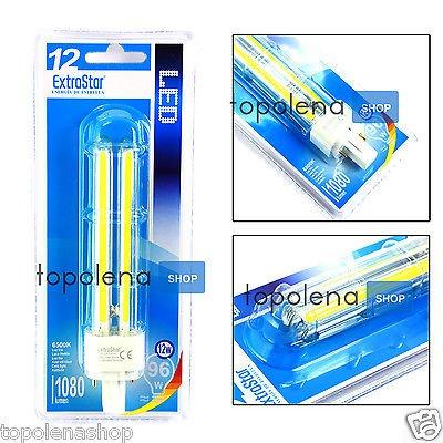 bombilla lámpara LED casquillo G24 12 W luz blanca 1080 lm 6500 K 15.000 horas: Amazon.es: Iluminación