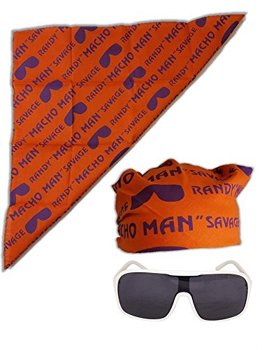 Macho Man Randy Savage Colored Costume Glasses - Savage Randy Sunglasses