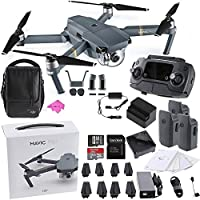DJI Mavic Pro FLY MORE COMBO Collapsible Quadcopter Starters Bundle PLUS DIGITALUNIVERSE CLOTH