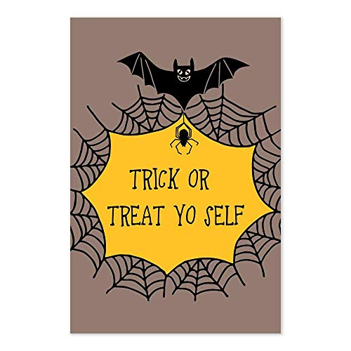 Trick Or Treat Yo Self Funny Halloween Art