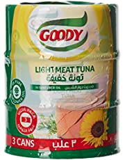 Goody Light Meat Tuna In Sunflower Oil Value, 3 x 160 gm