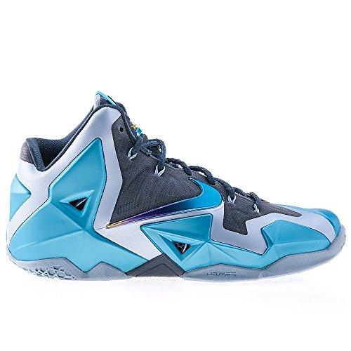 Nike - Lebron XI - Color: Blue-Light blue - Size: 12.5US