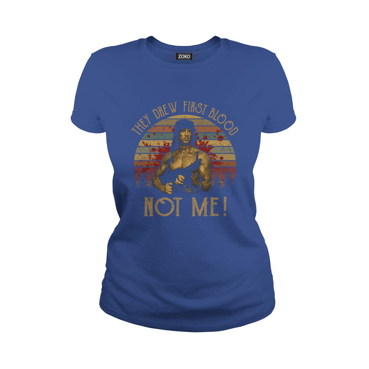 They Drew First Blood Not Me Vintage T-Shirt