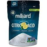Milliard Citric Acid 1 Pound - 100% Pure Food Grade NON-GMO Project VERIFIED (1 Pound)