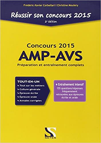 En ligne téléchargement gratuit Réussir son concours AMP-AVS 2015 epub pdf