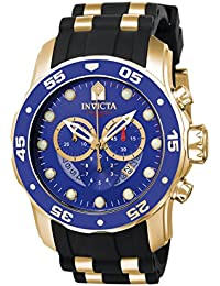Men's 6983 Pro Diver Collection Chronograph Blue Dial Black Polyurethane Watch