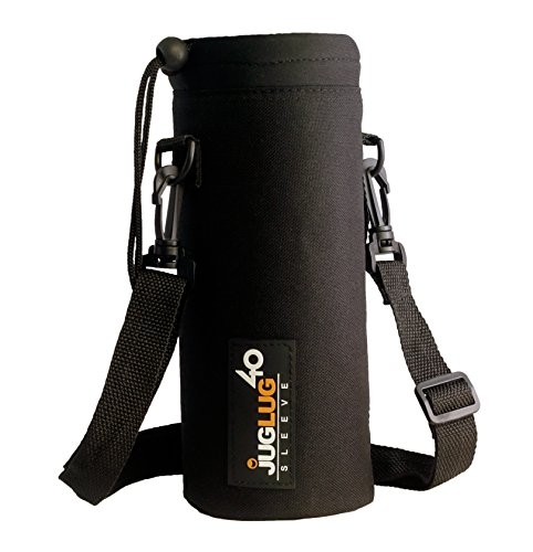 JugLug Sleeve / Pouch for Hydro Flask 40 oz. Bottles - Black