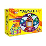 MAGNATON Magnetic Blocks, Magnetic Building Set, Magnetic Tiles For Baby / Kids, Educational And Creativity Toys For Boys and Girls, Bonus Included, Holidays Gift