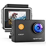 APEMAN Action Camera 1080P Full HD Waterproof Sport Camera 30m Underwater Camcorder with 170° Wide Angle and Mounting Accessory Kits