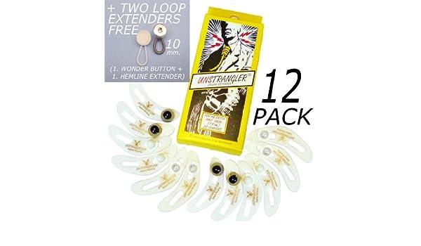 12 paquete de cuello UNSTRANGLER goliton/expansor + 1 + 1 botón de ...