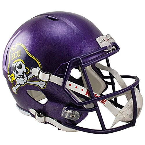 East Carolina Pirates Officially Licensed NCAA Speed Full Size Replica Football Helmet by Riddell