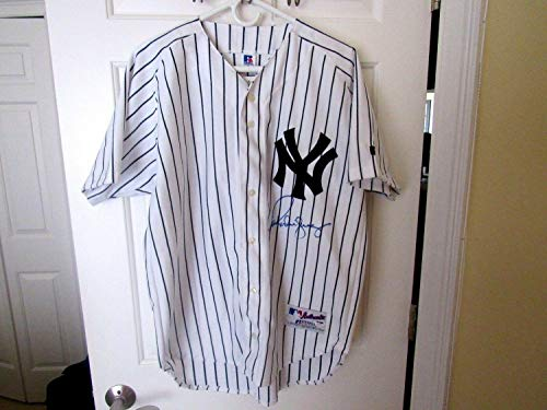 Alex Rodriguez 2009 Wsc Yankees Autographed Signed Auto Home Pro Jersey (Size XL) PSA/DNA Authentic