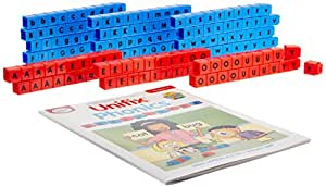 Didax Educational Resources Unifix Letter Cubes-Small Group