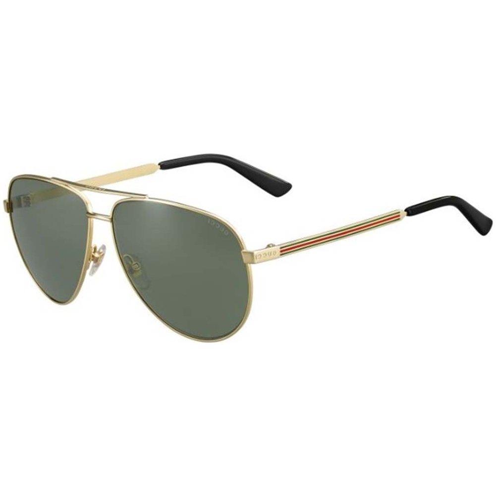 5a699820a77 Amazon.com  Gucci J5G Gold 2281 S Aviator Sunglasses Lens Category 3   Clothing