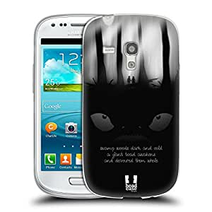 Head Case Designs Toad Illustrated Haiku Soft Gel Back Case Cover for Samsung Galaxy S3 III mini I8190