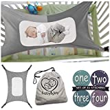 super why toddler bedding - Baby Hammock for Crib, Mimics Womb, Bassinet Hammock Bed, Enhanced Material, Upgraded Safety Measures, Newborn Infant Nursery Bed by Baby&Joy (Bonus Gift Bag) (Gray)