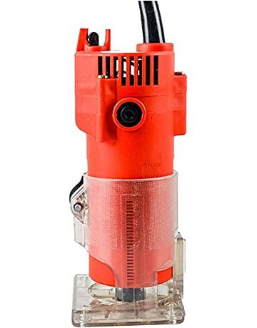KKmoon 220 V 30000 rpm 1/4 pulgadas 6.35mm Multifuncional Trimmer Eléctrico Portátil Router