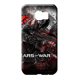 samsung galaxy s6 edge Attractive PC phone Hard Cases With Fashion Design mobile phone back case gears of war